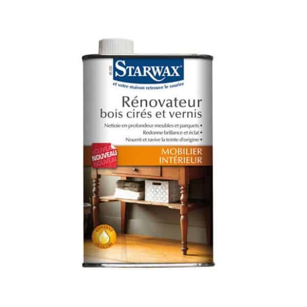 Rénovateur bois cirés et vernis Starwax