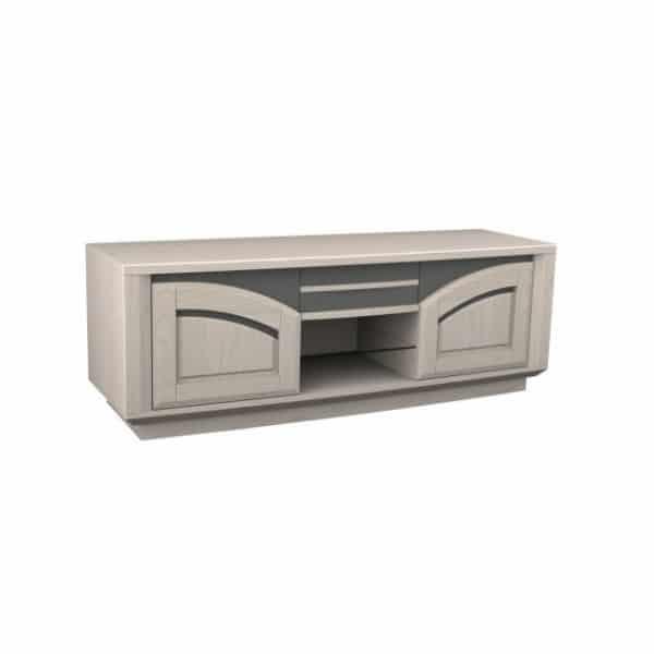 Meuble TV Hifi 2 portes - 1 tiroir - 1 niche IBIZA