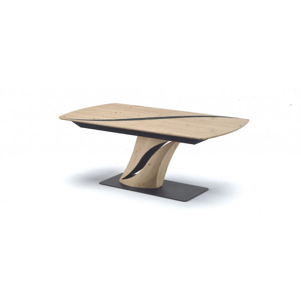 Table pied central FLORE